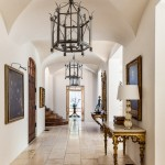 Scotch Hall Preserve for Mediterranean Entry with Gilded Furniture
