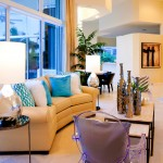 Sea Club Resort Fort Lauderdale for Contemporary Living Room with Beige Sofa