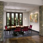 Seamless Sf for Contemporary Dining Room with Raised Ceiling