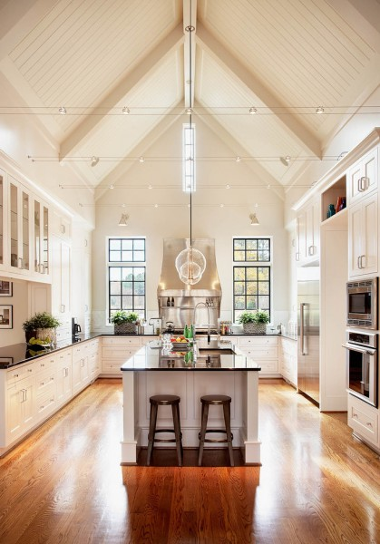 Sears Raleigh Nc for Traditional Kitchen with Cathedral Ceiling