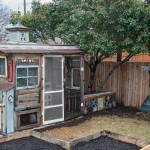 Shanty Chic for Eclectic Shed with Screen Doors