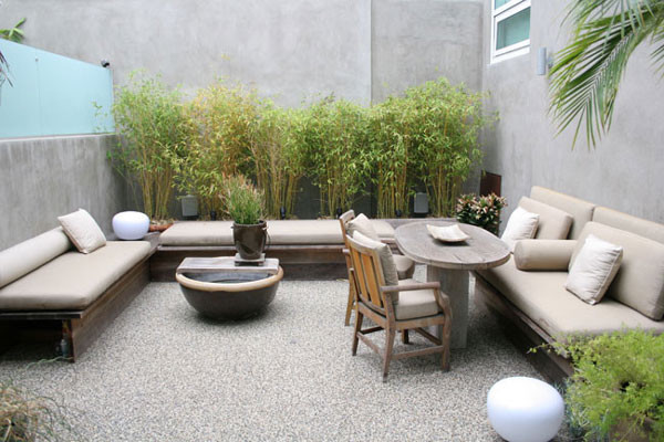 Shanty Chic for Modern Patio with Seating
