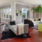 Sherwin Williams Amazing Gray for Contemporary Living Room with Offoman