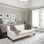 Sherwin Williams Anew Gray for Contemporary Bedroom with Gray Drapes