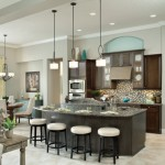 Sherwin Williams Anew Gray for Contemporary Kitchen with Florida Luxury Custom Homes