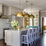 Sherwin Williams Anew Gray for Transitional Kitchen with Bright