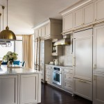 Sherwin Williams Anew Gray for Transitional Kitchen with River Views