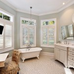Sherwin Williams Cabinet Paint for Beach Style Bathroom with Sage Green Cabinets