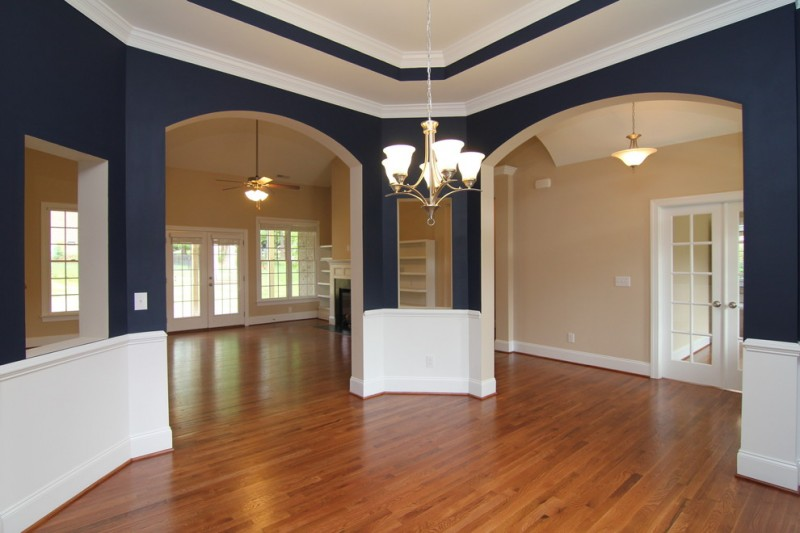Sherwin Williams Naval for Traditional Dining Room with Formal Dining Room