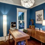 Sherwin Williams Seattle for Craftsman Home Office with White Trim