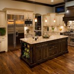 Sherwin Williams Stain Colors for Traditional Kitchen with Granite Countertops