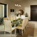 Sherwin Williams Visualizer for Contemporary Dining Room with Suspended Lighting