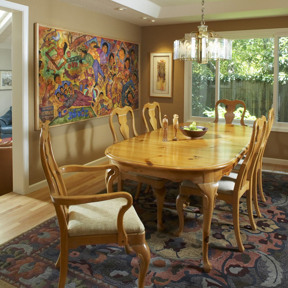 Sherwin Williams Visualizer for Traditional Dining Room with Tan Wall