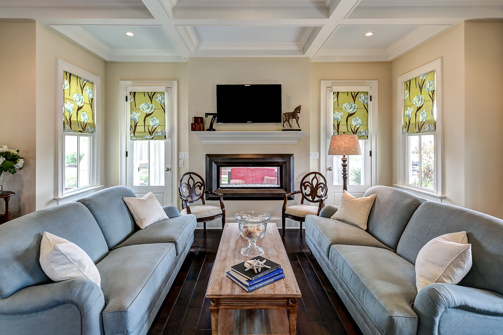 Sherwin Williams Visualizer for Traditional Living Room with Cottage