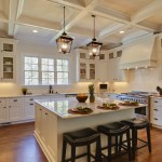 Shiloh Cabinets for Traditional Kitchen with Black Accents