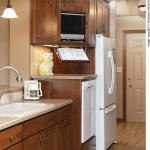 Showplace Wood Products for Traditional Kitchen with Hardwood Floor