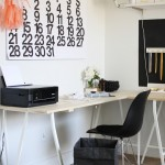 Sibcy Cline Realtors for Modern Home Office with Trestle Desk