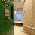 Sicis for Contemporary Bathroom with Mosaic Tile