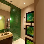 Sicis for Contemporary Bathroom with Wall Art
