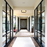 Sightline for Contemporary Entry with Hallway