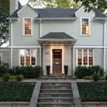 Sightline for Traditional Exterior with Gray House