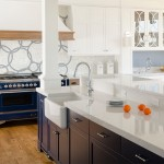 Silestone Lagoon for Contemporary Kitchen with Silestone