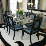 Silver Legacy Buffet for Contemporary Dining Room with Silk Drapes