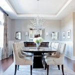 Silver Legacy Buffet for Transitional Dining Room with Beveled Mirror