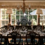 Silver Legacy Buffet for Victorian Dining Room with Wood Dining Chairs