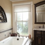 Simonton for Traditional Bathroom with Interior Window