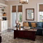 Simonton for Traditional Living Room with White Window Trim
