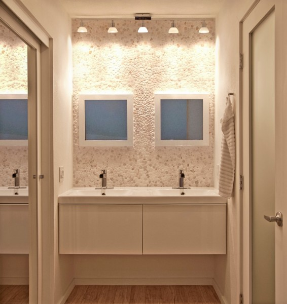 Singing River Electric for Contemporary Bathroom with Framed Mirrors