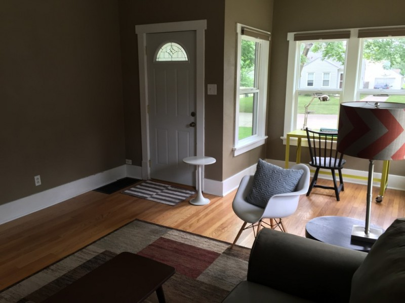 Skogman Realty for Transitional Family Room with Home Staging