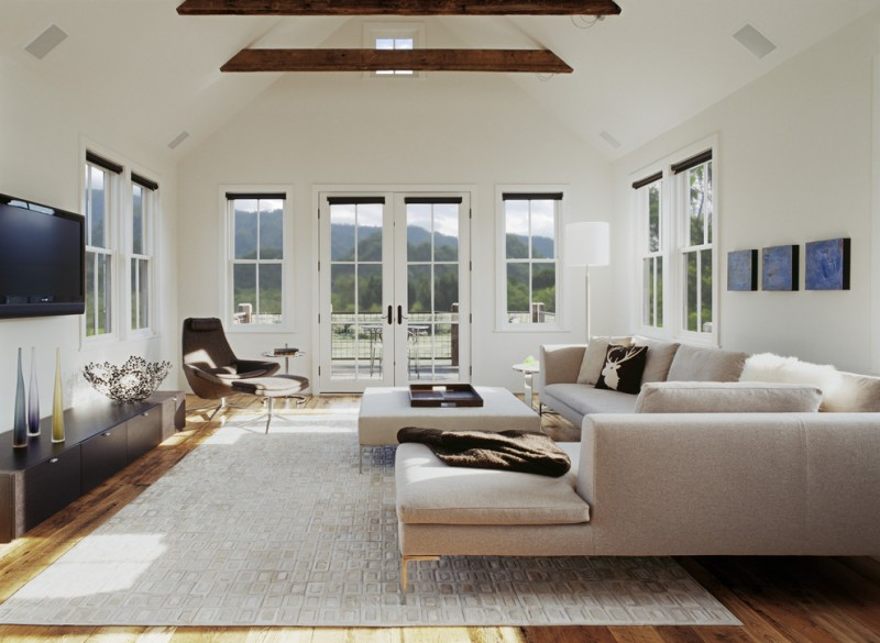 Sofa Mart Denver for Transitional Living Room with Sectional Sofa
