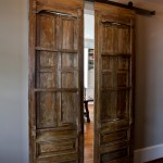 Southland Furniture for Transitional Entry with Sliding Barn Doors