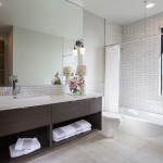 Southland Plumbing for Contemporary Bathroom with Wall Sconce