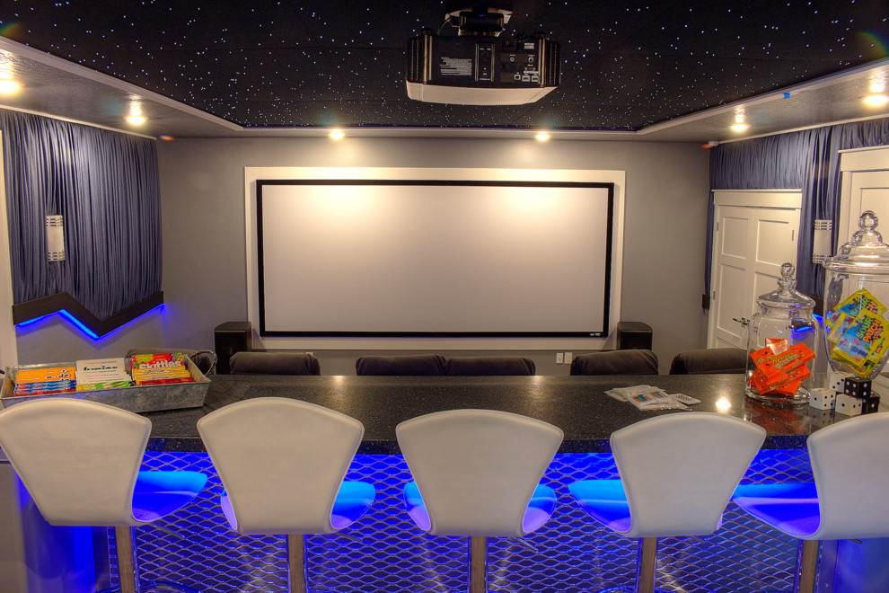Spanish Fork Theater for Traditional Home Theater with Raykon