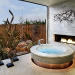 Spanish Trails Las Vegas for Contemporary Bathroom with Artwork