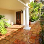 Spanish Trails Las Vegas for Mediterranean Entry with Recessed Lighting