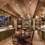 Spanish Trails Las Vegas for Mediterranean Kitchen with Round Dining Table