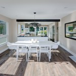 Spectra Contract Flooring for Contemporary Dining Room with Mixed Dining Furniture