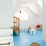Spectra Contract Flooring for Farmhouse Kids with Blue Floor