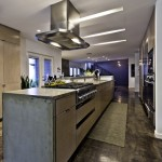 Spectra Contract Flooring for Industrial Kitchen with Recessed Lighting