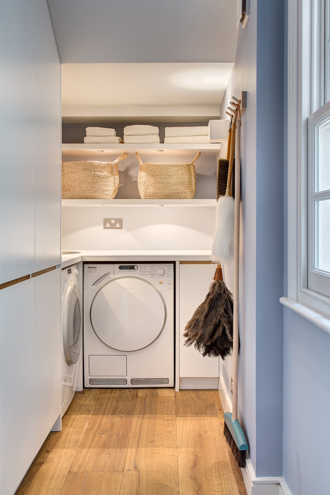 Spring Cleaning Checklist for Contemporary Laundry Room with Utility