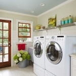 Spring Cleaning Checklist for Farmhouse Laundry Room with Farmhouse Laundry