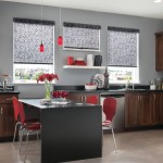 Springs Window Fashions for Contemporary Kitchen with Window Covering
