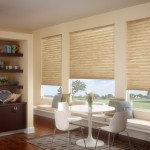 Springs Window Fashions for Transitional Dining Room with Made in the Shade Blinds