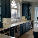 St Albans Mo for Contemporary Spaces with Carrara Tile Backsplash