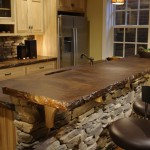 Stained Concrete Countertops for Traditional Kitchen with Traditional