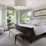 Stanton Carpet for Contemporary Bedroom with White Bedding